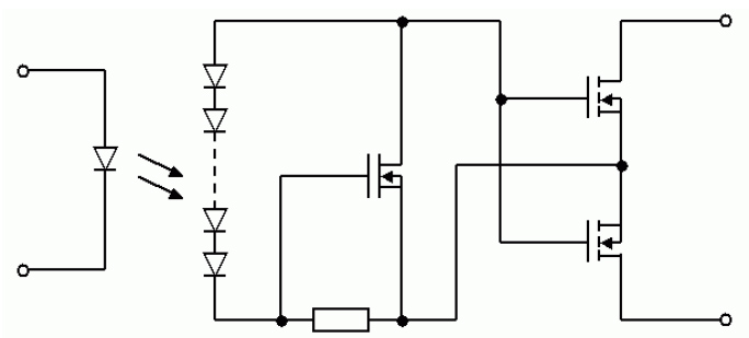 two light controlled relays
