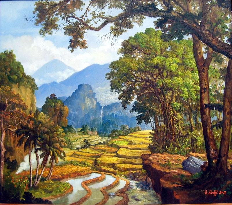 Wallpaper Gambar Pemandangan Alam