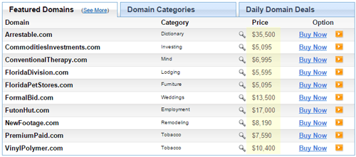Harga domain premium