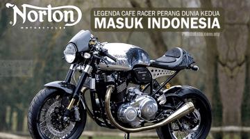 Norton – Motosikal Legenda Perang Dunia Jengah Pasaran Indonesia