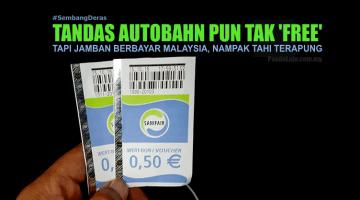 Tandas Autobahn Pun Kena Bayar, Tapi Tandas Berbayar Malaysia Siap Nampak Tahi Terapung