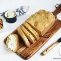 Pane con macchina del pane senza glutine