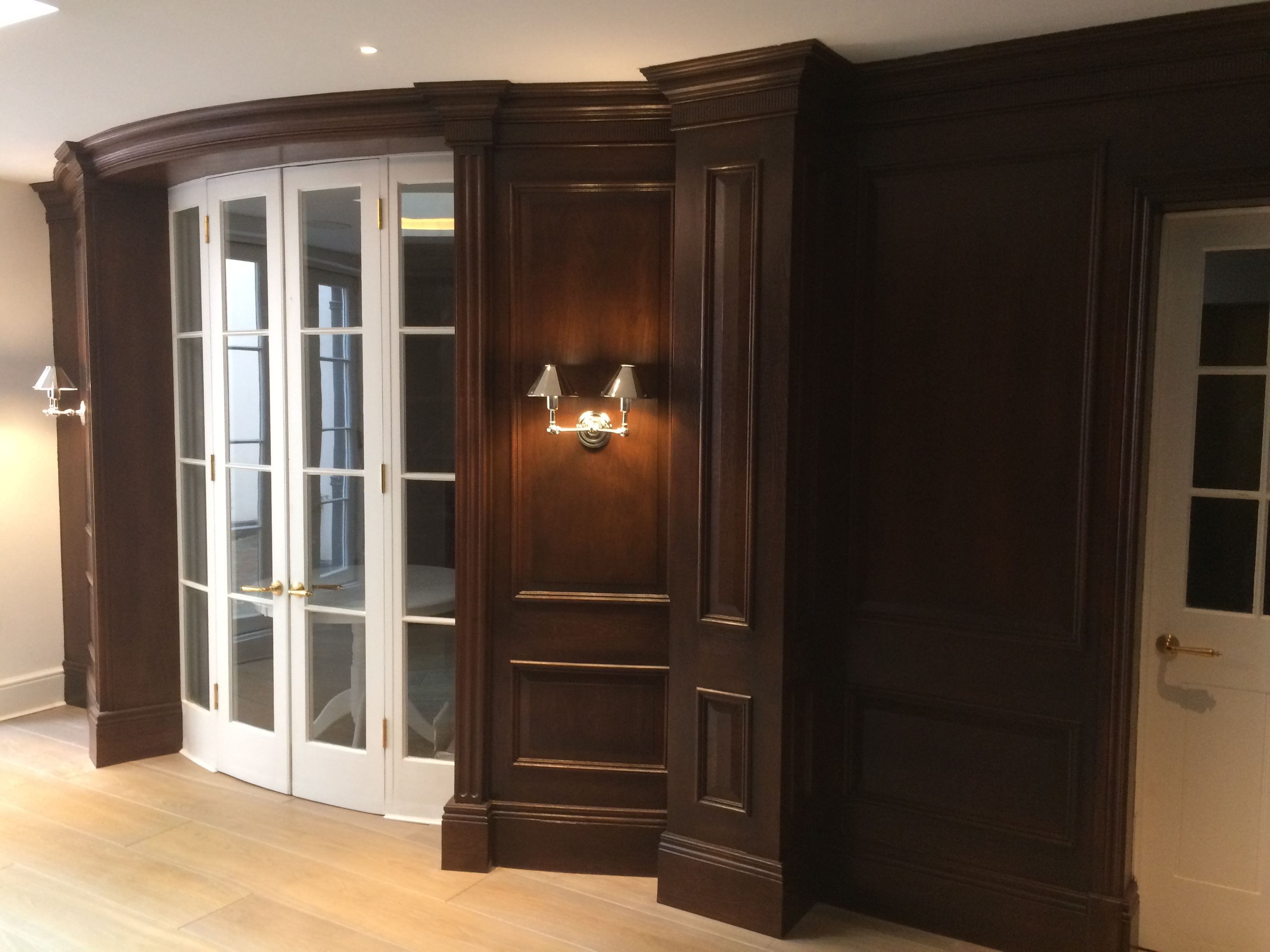Opulent Oak Wood Panelling Study Room Wood Panelling Wall Panelling Experts