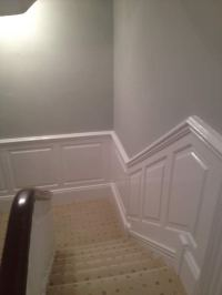 Staircase Wall Panelling | Panelling for Staircases | UK ...