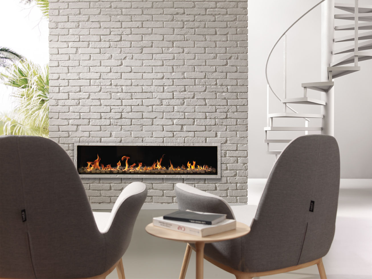 Decoration Murale Design 3d British Brick - Ladrillo Ingles