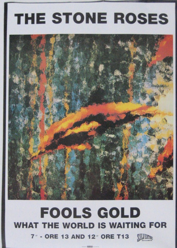 New York Poster Stone Roses Posters - Stone Roses Fool's Gold Poster 974