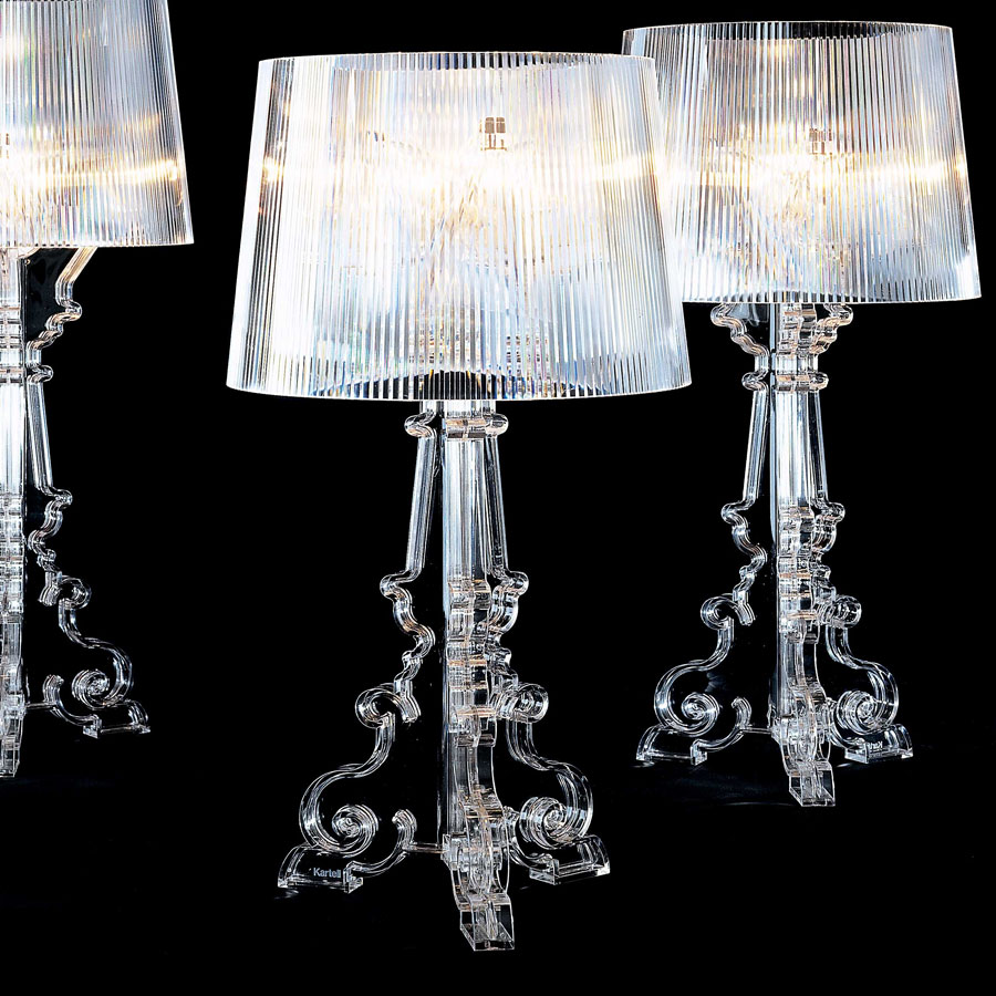 Lamp Kartell Kartell Ferruccio Laviani Bourgie Crystal Table Light