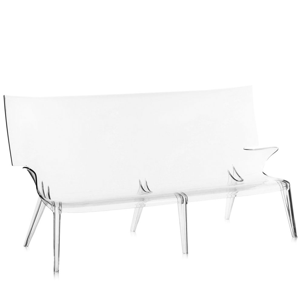Kartell Sofa Kartell Uncle Jack Sofa Transparent Philippe Starck
