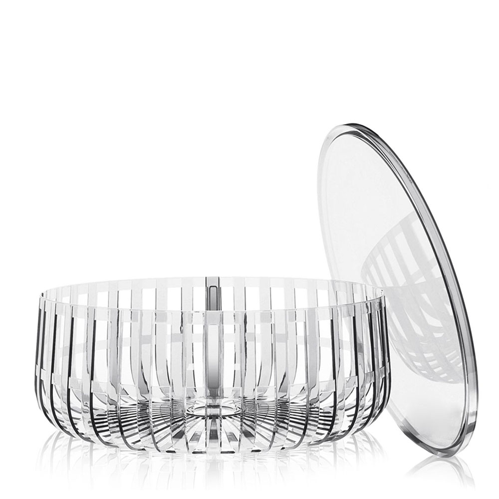 Kartell Container Kartell W Ronan Bouroullec Panier Container With Top Crystal