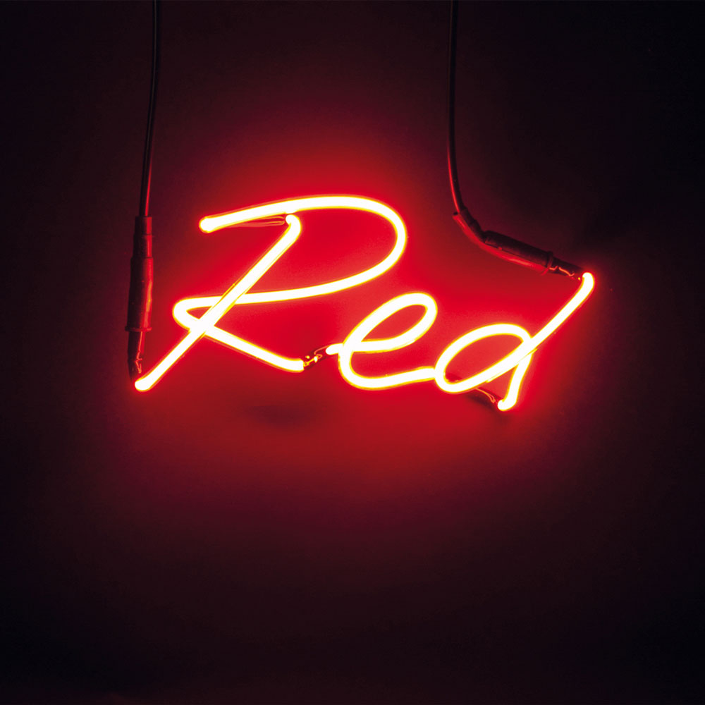 Neon Lamp Seletti Shades Red Neon Lamp