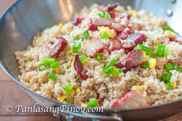 Pork BBQ Fried Rice