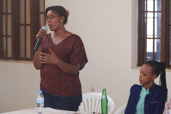 Kabanda Jeannette, Umukozi wa Komisiyo y'Igihugu ishinzwe gusezerera no gusubiza mu buzima busanzwe abari abasirikare