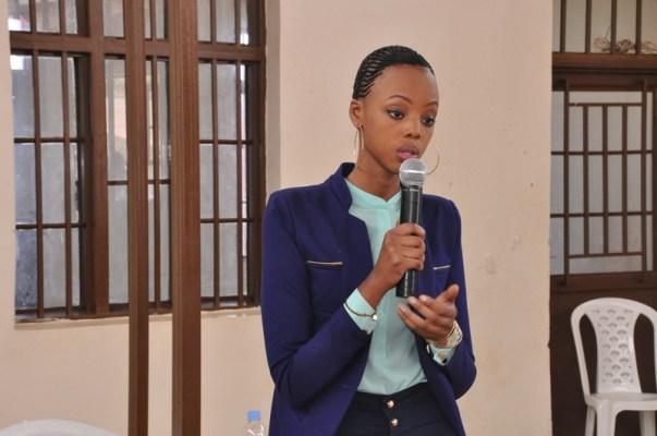 Mutesi Jolly, Nyampinga w'u Rwanda 2016 aganira n'abamugariye ku rugamba