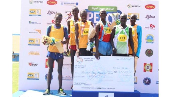 Kenyans dominate 12th Kigali Peace Marathon
