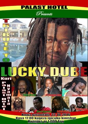 I Nyamata harategurwa igitaramo cyo kwibuka Lucky Dube.