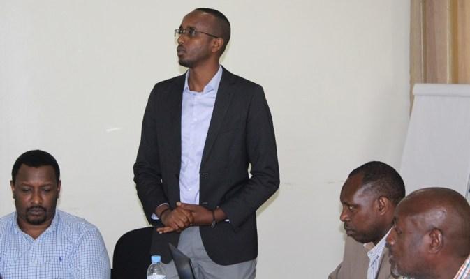 Mutabazi Richard, Umunyamabanga Mukuru. (Ifoto/kigalishowz)