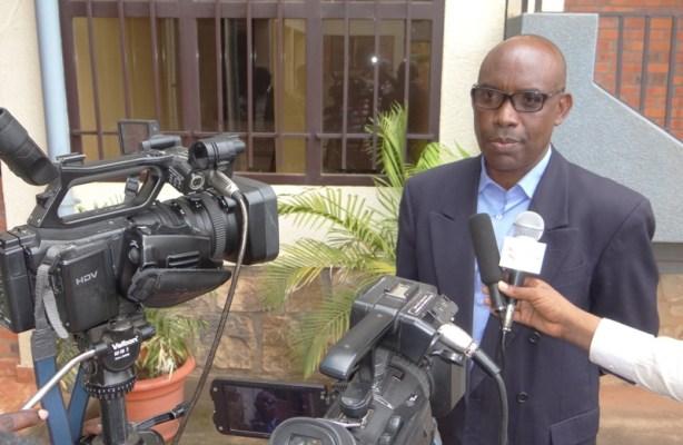 Gerald Mbanda, Umuyobozi Mukuru ushinzwe itangazamakuru muri RGB (Photo/Panorama)