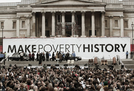 Legacy of Make Poverty History was to \u0027Africanize\u0027 poverty Panos