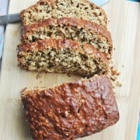 Oatmeal Peanut Butter Banana Bread