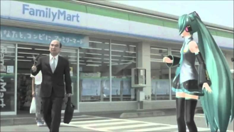 Hatsune Miku anuncia un supermercat… si les circumstàncies la deixen!!!