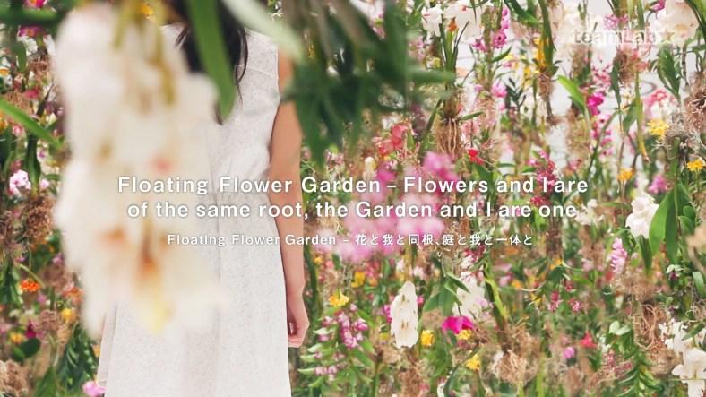 Un jardí de flors flotant: Floating Flower Garden