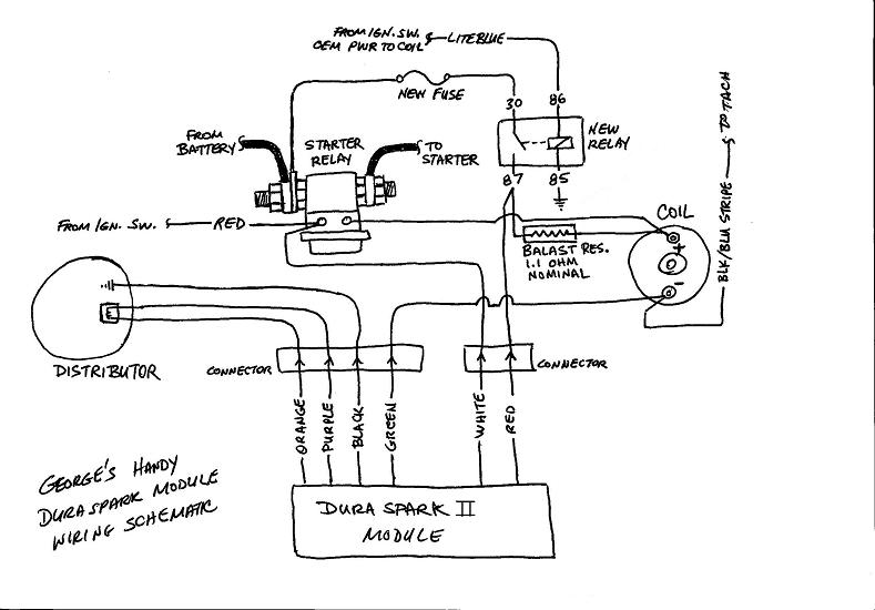 ford ignition module schematic