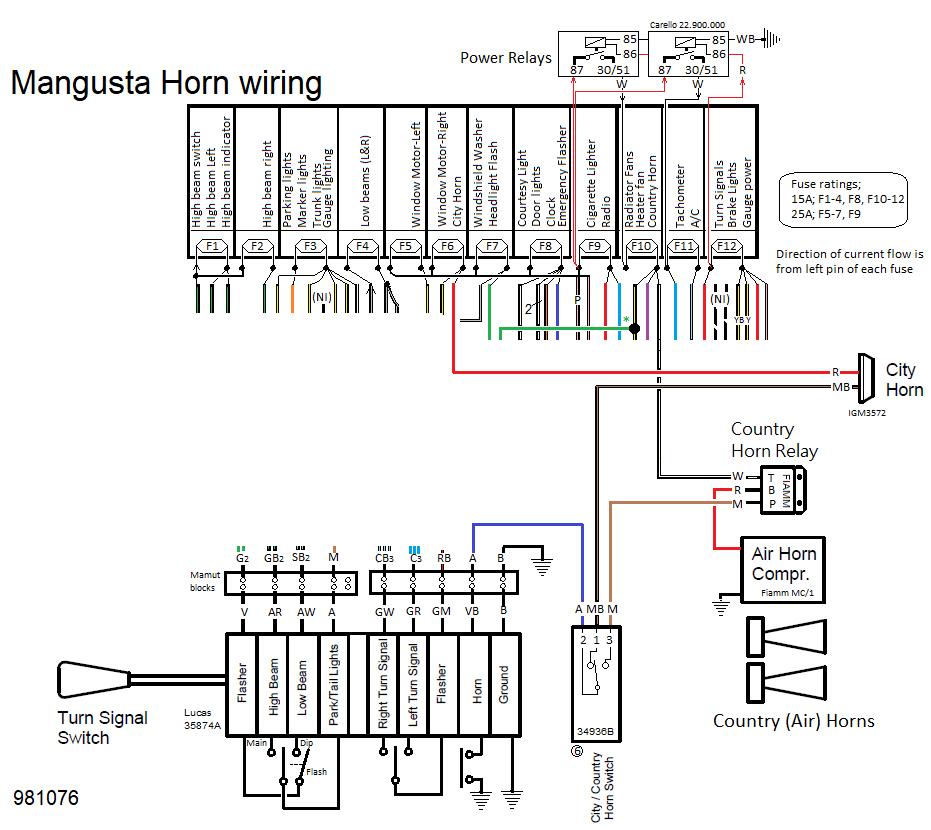 bosch horn relay wiring diagram