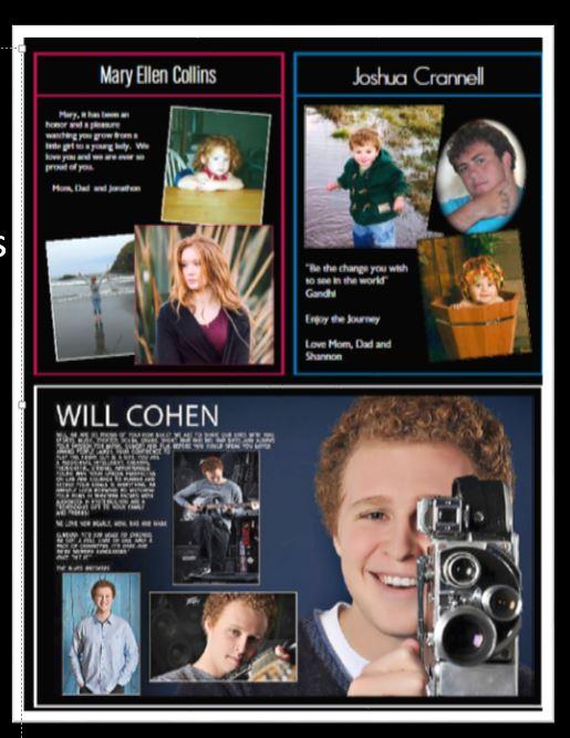 8th Grade Ads - UNIVERSITY PREPARATORY SCHOOL PANTHERA YEARBOOK - sample yearbook