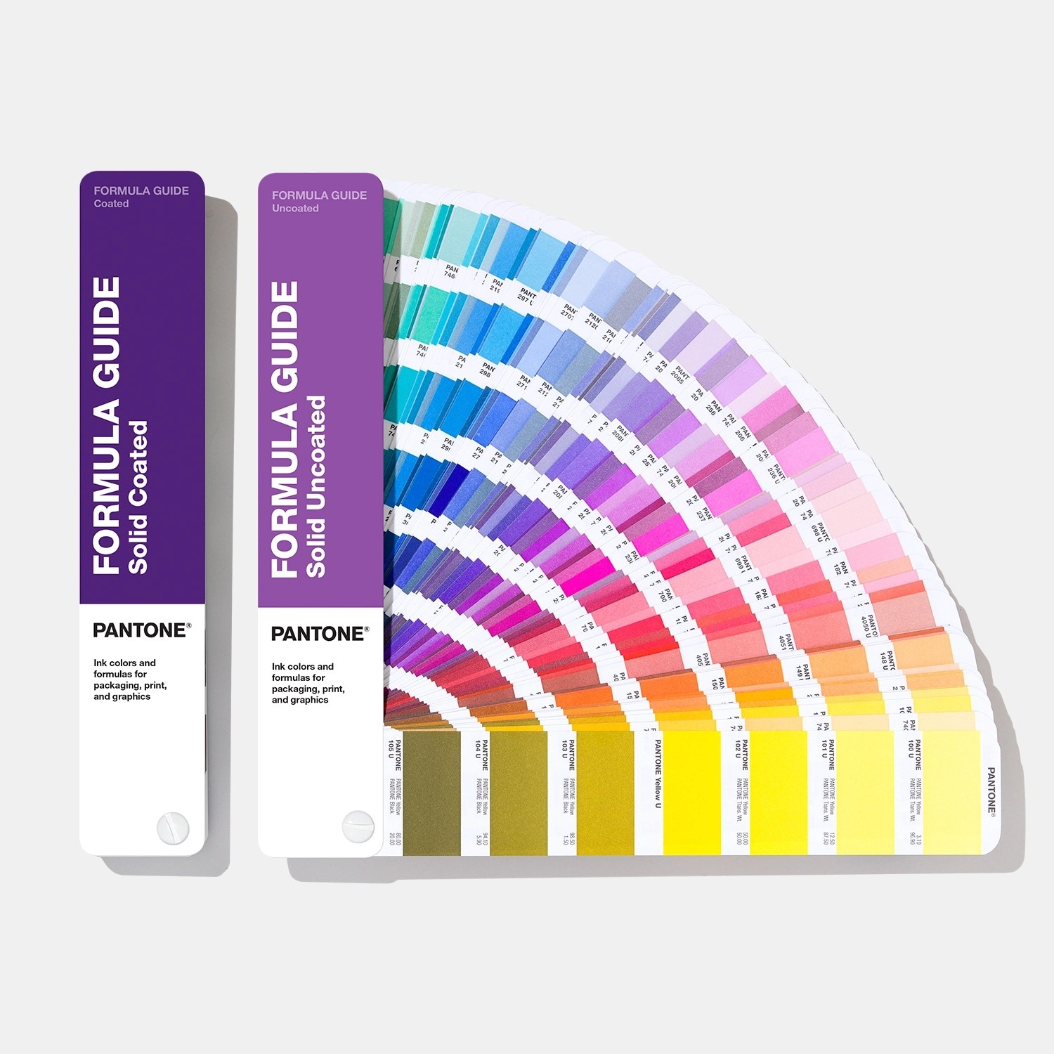 Formula Guide Coated And Uncoated Pantone - Pantone Grises