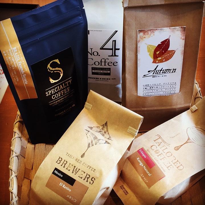 秋のコーヒー
