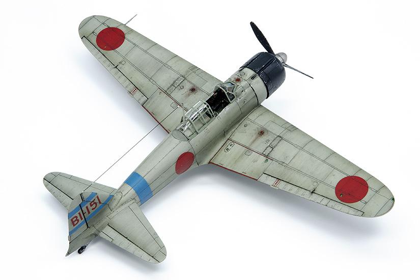 Mitsubishi A6M2b Zero, Lt. Fusata Iida
