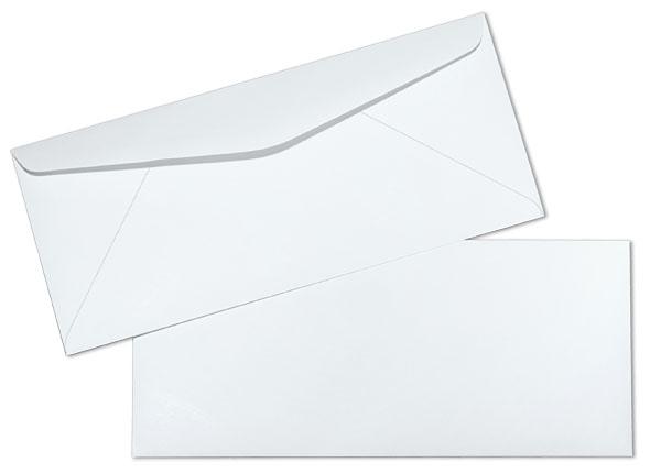 7 3/4 24lb White Wove Regular Commercial Envelopes Paoli Envelope