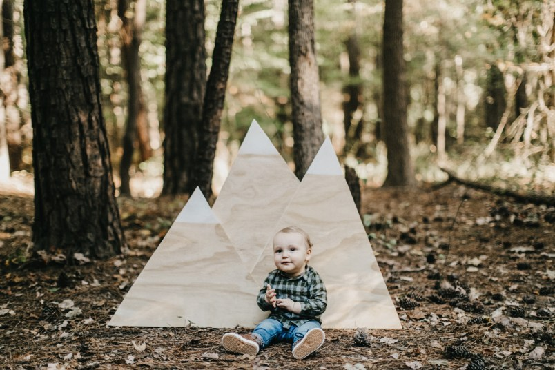 mountain adventure fall first birthday