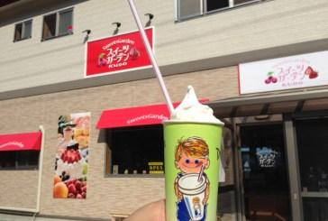 南部町】スイーツガーデンKUDO!一度にソフトクリームとシェイクが楽しめる!子どもに人気な理由がわかった!!