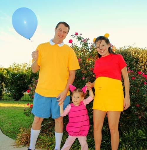 10 id es de costume pour se d guiser en famille pour halloween - Halloween en famille ...