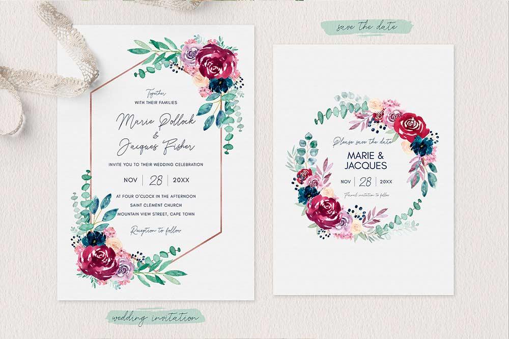 Invitaciones para imprimir - Papelería para Imprimir