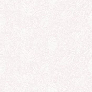 Papel pintado infatil rosa Buddy Birds 6249 del catalogo Scandinavian Designers Mini
