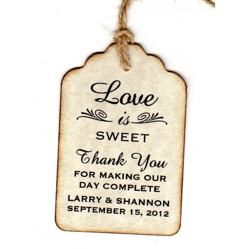 Medium Crop Of Thank You Tags