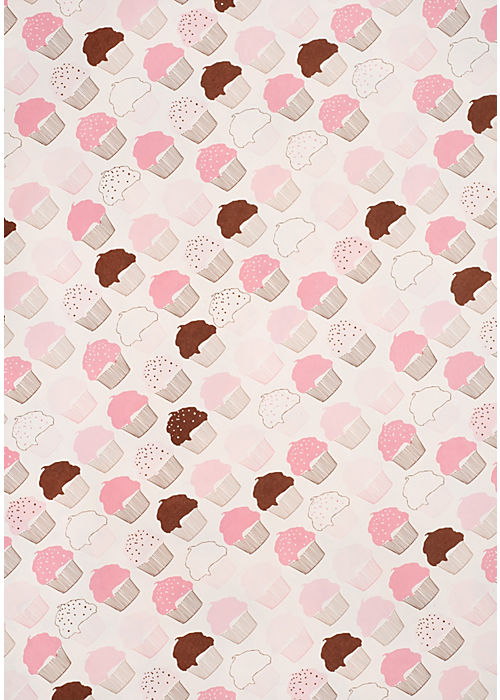 Snow & Graham Cupcakes Wrapping Paper