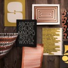 House Industries Metallic Typography Posters