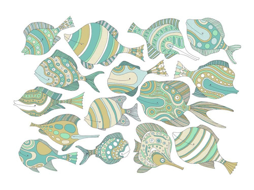 Jen Skelley Limited Edition Fish Print