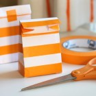 How About Orange Masking Tape Envelope Bags