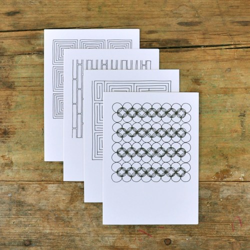 Pawling Print Geometric Cards