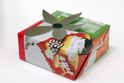 Made by Joel Recycled Magazine Gift Wrap