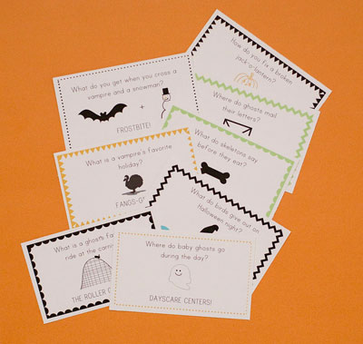 Allison Waken Halloween Lunch Box Joke Printable