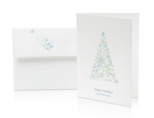 Apple iPhone Letterpress Cards
