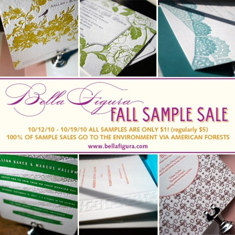 Bella Figura Fall Sample Sale
