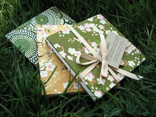 Campbell Raw Letterpress Handbound Book Calendar