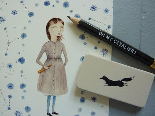 Oh My Cavalier Postcards