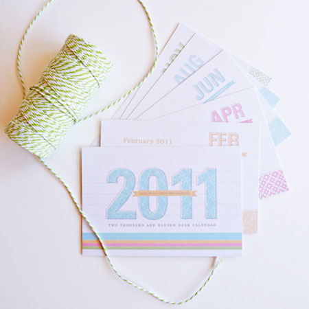 Dizzy Wizzy 2011 Calendar